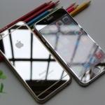 - ฟิล์มกระจกนิรภัย For Apple iPhone 4 / 4s แบบเงา หน้าหลัง