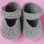 รองเท้าไหมพรมถักทารกชายคลอดก่อนกำหนด