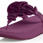 รองเท้า FitFlop Frou Sandals - Cosmic Purple New size US 5 -11
