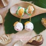 Pupa gang Thai dessert : Rice custard (ข้าวเหนียวหน้าสังขยา)