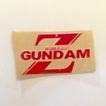 สติ๊กเกอร์ Mobile suit GUNDAM สีแดง