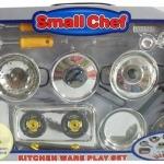 ชุดครัว Small chef สีเงิน