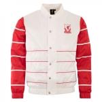 เสื้อลิเวอร์พูลย้อนยุคของแท้ Liverpool FC Mens White Shell Jacket