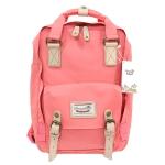 [ พร้อมส่ง ] - กระเป๋าเป้ Doughnut Macaroon Hong Kong canvas backpack #PINK