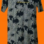 แถมให้คุณฐานิตค่ะ D8:Vintage dress เดรสวินเทจทรงตรง ลายสีน้ำตาลทอง&#x2764
