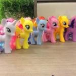 โมเดลม้าโพนี่ My Little Pony เซ็ต 6 ตัว