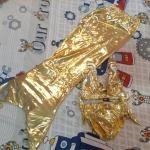 เซ็ทชุดนางเงือก *สีทอง