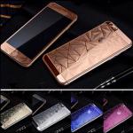 - ฟิล์มกระจกนิรภัย 3D Diamond For Apple iPhone 6 4.7 นิ้ว หน้าหลัง