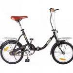 """จักรยานพับได้ตัวถังเหล็ก ขนาดล้อ 16"""""""