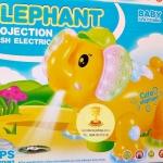 ช้างมีไฟมีเสียงแายไฟ LED