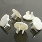 [แพค 10 ชิ้น] ปลั๊กกันไฟดูด แบบเฉียง 3 รูขา Baby Electric Shock Safety Socket Protective Cover