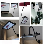 "360º Adjustable Aluminum Desk Gooseneck Mount Holder Stand for 7""-10"" Tablet :ipad 2 3 4 Air..."