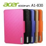 เคส Acer iconia A1 - 830 รุ่น Luxury Cover Slim เลิศหรู ดูไฮโซ
