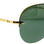 แว่นตา Ray Ban Rb 3449 001/71 Gold Rb3449 Aviator Sunglasses