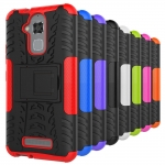 "Hybrid Shockproof Armor Rubber Stand Case For ASUS Zenfone 3 Max 5.2"" ZC520TL"