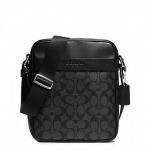 กระเป๋าผู้ชาย COACH FLIGHT BAG IN SIGNATURE F71764 BLACK