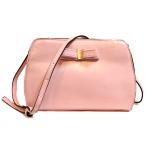 ***พร้อมส่ง จำนวนจำกัด - กระเป๋าคลัทช์แฟชั่น สไตล์เกาหลี สีชมพูพาสเทล  แต่งโบว์ด้านหน้า  ดีไซน์สวยน่ารัก มีสายสะพายยาว น่าใช้มากๆค่ะ
