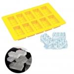 แม่พิมพ์ซิลิโคน รูป Lego สำหรับฟรีซเก็บอาหารเด็กในตู้เย็น
