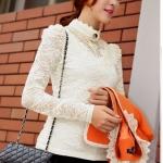 (Pre order)เสื้อเจ้าหญิง Pricess แสนสวยสีขาว