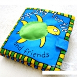 หนังสือผ้า Priddy Books - Squishy Turtle and Friends