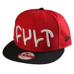 หมวก NEW ERA snapback red/black