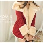 (Pre-order)เสื้อโค๊ทกันหนาว และ หิมะได้ งานนำเข้า100% สีแดง