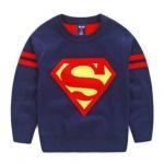 เสื้อกันหนาวไหมพรม Super Man *กรมท่า*