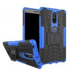 Hybrid Shockproof Armor Rubber Stand Case For Lenovo Phab 2 Plus