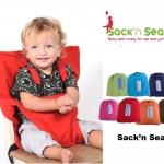 เก้าอี้ทานข้าวพกพาสำหรับเด็ก Sack'n Seat
