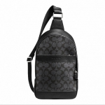 กระเป๋าผู้ชาย COACH CAMPUS PACK IN SIGNATURE F72043 : BLACK