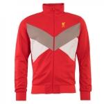 เสื้อลิเวอร์พูลย้อนยุคของแท้ Liverpool FC Mens Red Tricot Jacket