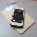 ชุดชาร็จไร้สายสำหรับ Iphone (แท่นชาร์จ + case)