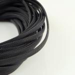 สายถัก 8 mm สีดำ