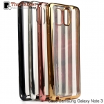 TPU ใสขอบสี เคส Samsung Galaxy Note 3