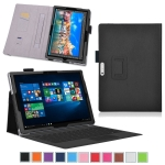 Business Leather Case with elastic For Microsoft Surface Pro 2017