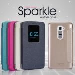 เคสมือถือ LG G2 (D802) รุ่น Sparkle Leather case Nillkin แท้ !!!