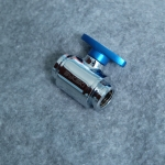Ball valve Bykski สีน้ำเงิน