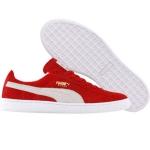 รองเท้า Puma Suede (ribbon red / white)