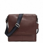 กระเป๋าผู้ชาย COACH รุ่น SULLIVAN SMALL MESSENGER IN SMOOTH LEATHER F71721 : MAHOGANY