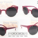 Vicki Vampire polka dot purple รหัส : KS-1351D