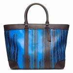 กระเป๋าผู้ชาย COACH BLEECKER SIGNATURE KRINK WEEKEND TOTE F70871