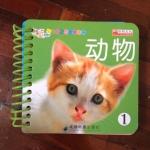 หนังสือกระดาษแข็งทุกหน้า สอนเรื่องสัตว์เลี้ยง ภาษาอังกฤษ-จีน
