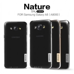 Nillkin Nature Slim Clear TPU Case Cover for Samsung Galaxy A8