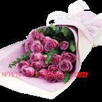 ช่อดอกกุหลาบสีชมพูอมม่วง น่ารัก เรียบหรู เหมาะสำหรับทุกโอกาส