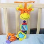 ตุ๊กตาโมบายยีราฟ Multi-function Playgro Giraffe Baby Plush Toys