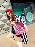 (Pre order)กระเป๋าแบรน Maomao Bag หนัง PVC สีชมพู
