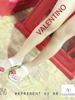 250) Valentino Sandel รูปปาก VALENTINO ปากแดง