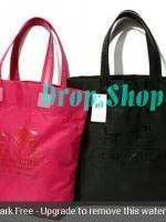 COACH Premium Gift Coach waterproof carriage pattern nylon tote bag