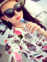 I Love Icecream Lanla Dress by Seoul Secret