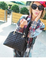 (Pre order)กระเป๋าแบรน Maomao Bag หนัง PU สีดำ พร้อมสายสะพายไหล่